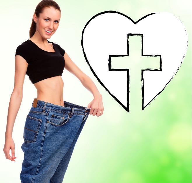 Gewicht abnehmen und ein längeres Leben als Christ genießen